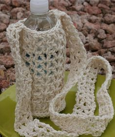 Ravelry: Water Bottle Carrier pattern by Fair Trade Family