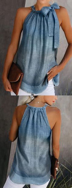 Excellent Free Casual Vests Style I really like Jeans ! - Excellent Free Casual Vests Style I really like Jeans ! And even more I like to sew my very own Jeans. Next Jeans Sew Along I am goi Source by - Sewing Summer Dresses, Denim Fashion, Fashion Outfits, Fashion Top, Cute Skirt Outfits, Estilo Jeans, Denim Ideas, Refashion, Diy Clothes