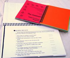 Making your own spiral bound notebooks