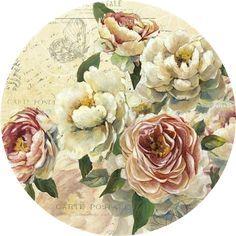 Decoupage Plates, Decoupage Printables, Decoupage Vintage, Watercolor Design, Watercolor Illustration, Floral Watercolor, Printable Pictures, Printable Art, Vintage Cards