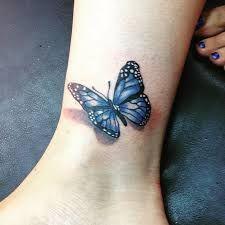 Afbeeldingsresultaat voor 3D butterfly tattoo
