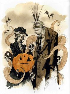 """""""Samhain Greetings"""" by Gris Grimly"""
