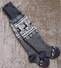 Handmade Norwegian Wool Socks