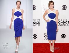 Allison Williams In David Koma – 2014 People's Choice Awards