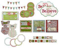 Holiday Printable Kit   Leelou Blogs