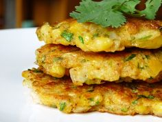 Sweetcorn Fritters #nostalgia - my dear gran used to love to make these when I visited her and we would munch on them while we chatted and prepared supper. Miss her dearly xoxo