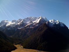 Almost 30% of land in New Zealand is publicly owned and much of this has been converted to National Parks.