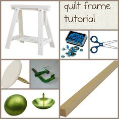 Celebrate Hand Quilting: DIY a (inexpensive) home hand quilting floor frame...