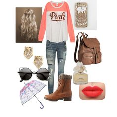 Untitled #135 by veggieranch on Polyvore featuring polyvore, fashion, style, Polo Ralph Lauren, Charlotte Russe, H&M, Kate Spade, Vera Bradley and Marc by Marc Jacobs