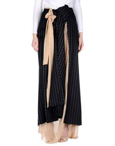 MAISON MARGIELA Women's Long skirt Black 6 US