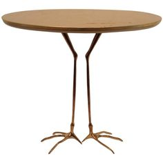 Traccia Table, 1939-1978   From a unique collection of antique and modern side tables at https://www.1stdibs.com/furniture/tables/side-tables/