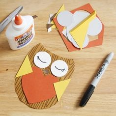 Learn to make this cute owl valentine. Free printable template included!