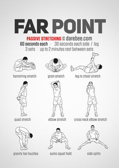 Farpoint Workout Stretches For Flexibility, Flexibility Workout, Stretching Exercises, Easy Stretches, Strength Workout, Gym Workout Tips, Boxing Workout, At Home Workouts, Post Workout