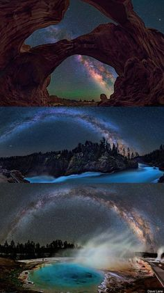 The Milky Way in the National Parks.