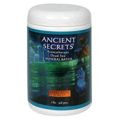 Ancient Secrets Mineral Baths, Aromatherapy Dead Sea, Evergreen Forest, 32 oz (2 Lbs) 908 (Pack of 2) Ancient Secrets