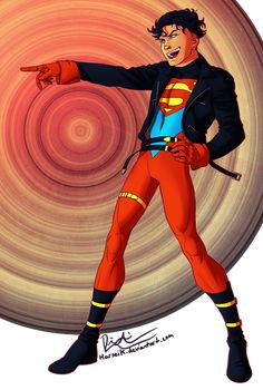 Kon-El / Superboy from the radical 90's. He's so precious and full of himself and aghdffklsjdgsf, he needs to take up more of my gallery. I think I'm gonna get ready to dive into the Suberboy comic...
