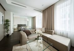 amazing hotel vorobyovy Minimalist Apartment With a Strong Design Rhythm by Alexandra Fedorova | freshome