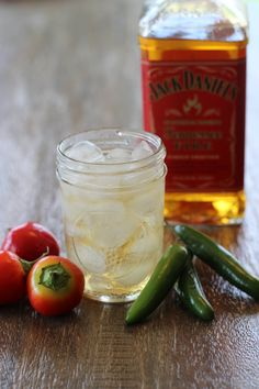 Heat up the holiday's with the @jackdanielsus  Fire Extinguisher!  0.5 oz. Jack Daniel's Tennessee Fire 1 pint hard apple cider