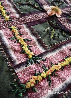 Embroidered kentuchy chain - Blog a Zonzon