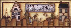 mary ann june pictures | Mary Ann June - Home Sweet Home Shelf - art prints and posters