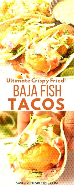 #friedcrispy... Fish Tacos With Cabbage, Cabbage Slaw, Ethnic Recipes, Food, Meals