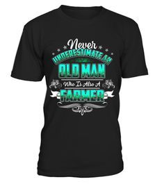 """# Never Underestimate An Old Man A  Farmer T-Shirt .  Special Offer, not available in shops      Comes in a variety of styles and colours      Buy yours now before it is too late!      Secured payment via Visa / Mastercard / Amex / PayPal      How to place an order            Choose the model from the drop-down menu      Click on """"Buy it now""""      Choose the size and the quantity      Add your delivery address and bank details      And that's it!      Tags: Never Underestimate An Old man Who…"""