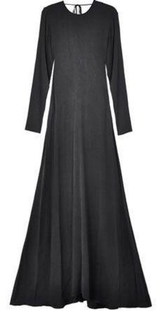 black maxi dress <3