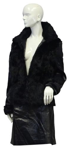 Free Shipping on U.S. orders $75+ PRODUCT TITLE: Black Rabbit Fur Coat SIZE: L COLOR: Black FABRIC: Silky Sleeve Material/Rabbit Fur CARE: Fur Care CONDITION: Vintage - E Pre-owned. Gently loved. Almost New. No markings or noted damage.  |  Tradesy is the leading used luxury fashion resale marketplace | 100% AUTHENTIC, OR YOUR MONEY BACK | We have a zero-tolerance policy for replicas. Our authentication rate is best in the industry (Stronger than eBay, ThreadUp, The RealReal, Poshmark… Black Satin, Black And White, Rabbit Fur Coat, Satin Material, Black Fabric, Zero, Luxury Fashion, Color Black, Autumn Fashion