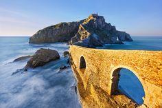 L'île San Juan Gaztelugatxe au Pays Basque