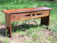antique pine bench - you gotta sit somewhere