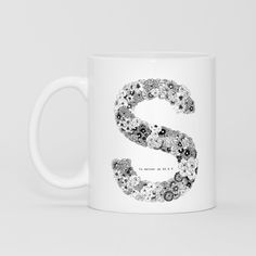 S 馬克杯 - BY SSADESIGN | 62Icon
