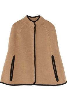 J.Crew Knitted wool cape