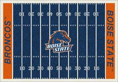 "Boise State Broncos 3' 10"" x 5' 4"" Home Field Area Rug  #Area #Boise #Broncos #Field #Home #State boisestategear.com"