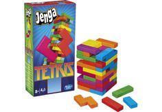 Tetris Jenga. The peanut butter and jelly of board games.