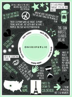 <3 OneRepublic. My gosh, this one too.