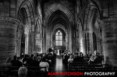 Weddings at the Holy Rude Church Stirling – Debbie and Derek