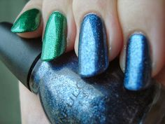 Sinful Colors Pine Away and Blue Steel *click for more*