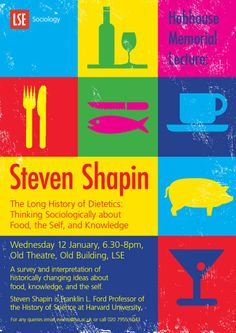 Professor Steven Shapin: 'The Long History of Dietetics: Thinking Sociologically about Food, the Self, and Knowledge', 12 January 2011.