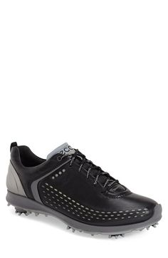 Free shipping and returns on ECCO 'Biom' Hydromax Waterproof Golf Shoe (Men) at Nordstrom.com. Waterproof Hydromaxyak leather and modern design define an effective golf shoe set on a sole with smart spikes for the solid foundation you need to smooth our your swing.