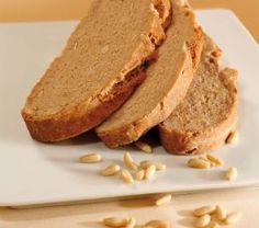 Chestnut bread with pine nuts