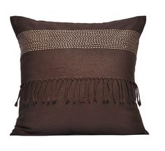 Sttiches Throw Pillow Cover  Embroidered Pillow Cover by KainKain, $22.00