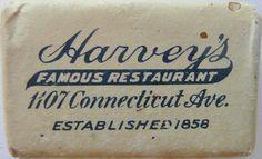 HARVEY'S RESTAURANT  WASHINGTON D.C. by ussiwojima, via Flickr