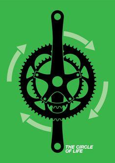 /via fietseninmei #tumblr #cycling #illustration