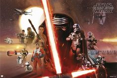 STAR WARS: THE FORCE AWAKENS - Collection of Poster and Character Art — GeekTyrant
