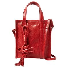 0e64beca72f121 Balenciaga Chinese New Year Bazar Shopper S with removable and adjustable  cross body strap. Sold