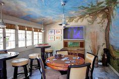 2011 Pasadena Showcase House of Design, Paul Williams: La Canada Flintridge-Guest House Gameroom