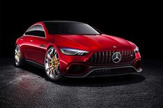 Mercedes-AMG-GT-concept-front-three-quarter.jpg - Motor Trend Staff