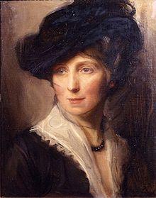 """""""Mrs. Philip de László, née Lucy Guinness"""" (1915) Philip Alexius de László. Current location  Unknown."""