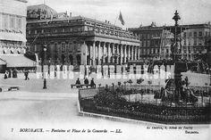 Fontaine et Place de la Concorde (7) - Bordeaux