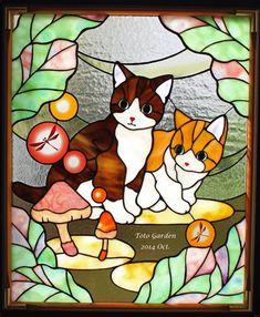 明日から「ガラスの森の猫たちⅦ」始まります。 - ガラスの森の猫たち